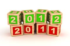 Achieve a new year Stock Photos
