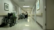 Elderly Care Editorial ED Stock Footage