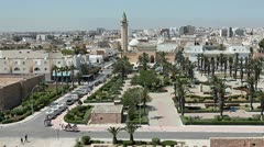 Monastir city, Tunisia. - stock footage