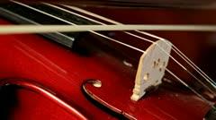 Violin Lesson Stock Footage