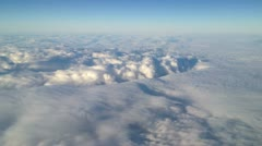 Landscape over the clouds 9 Stock Footage