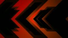 Orange arrow Stock Footage