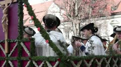 Germany, Bavaria, Leonhardi parade Stock Footage