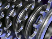 Stock Photo of chain gears