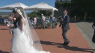 Stock Video Footage of Asian grooms..Unforgettable moment in beautiful Florence.Italy.