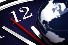 World time Stock Photos
