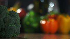 Broccoli 3 shots 20110324134603 Stock Footage