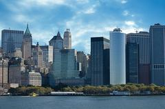 New York City during the Fall - stock photo