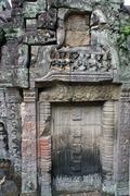 Stock Photo of stone door