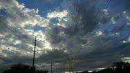 Power Sunset 1 Stock Footage