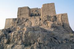 fort in jiaohe, silk road, china - stock photo