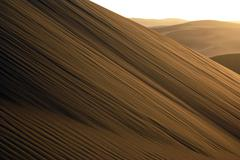 big dunes - stock photo