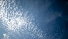 Autumn sky pan TL Stock Footage
