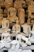 Many buddhas Stock Photos