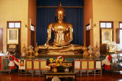 Golden buddha Stock Photos