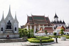 Stock Photo of monument and wat
