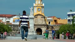Clock Towers, Time, Buildings, Architecture Stock Footage