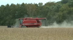 Grain harvest agriculture Stock Footage