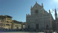 Stock Video Footage of Florence, cathedral chatolic.Dome.