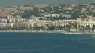 Stock Video Footage of Nice CoteD'Azur