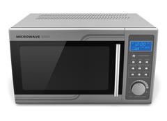 Microwave oven - stock illustration