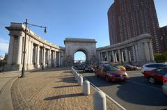 An Arch in NYC - stock photo