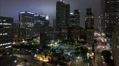 Los Angeles Pershing Square Stock Footage
