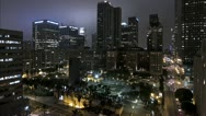 Stock Video Footage of Los Angeles Pershing Square