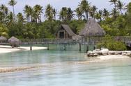 Stock Photo of pier over the lagoon