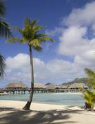 beach view - stock photo
