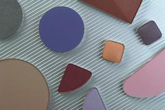 cosmetic colors - stock photo