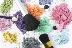 cosmetic color - stock photo