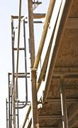 Scaffolding Array - stock photo