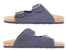 Cork slippers Stock Photos