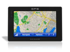 GPS navigator - stock illustration