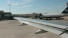 Airport Phoenix Arizona passenger airline taxi to runway HD 3589 Stock Footage