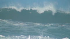 Ocean giant wave - stock footage