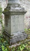 old graveyard in freiburg - stock photo