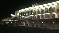 Facade of the Palace Stock Footage