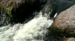 Small waterfall 6 Stock Footage