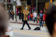 Peace Protester Stock Photos