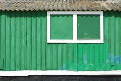 fisherman house - stock photo