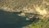 Stock Video Footage of Rocky cliffs on the coast of Mallorca