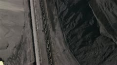 Aerial view of Coal Mine by HeliDog_Aerials Stock Footage
