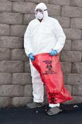 hazardous waste - stock photo