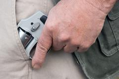 Concealed carry Stock Photos