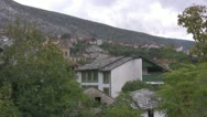 Stock Video Footage of Mostar view of houses