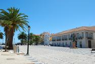 Stock Photo of cascais square