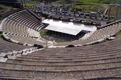 Roman theater Stock Photos