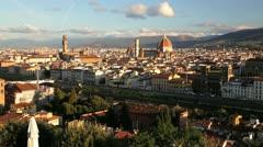 Piazza Del Michelangelo, Florence Stock Footage